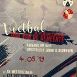 Dag van de voetbalgemeente 4 mei: iedereen aanwezig! C'mon KSK!