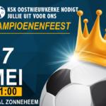 17 mei: kampioenenfeest