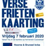 Iedereen welkom op de jaarlijkse kaarting tvv KSK Oostnieuwkerke!!